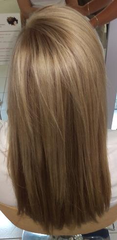 odbarvení vlasů cena
