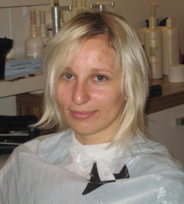 3. proměna 1A před, kadeřnictví, kosmetika